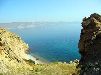 Дикие пляжи в Орджоникидзе